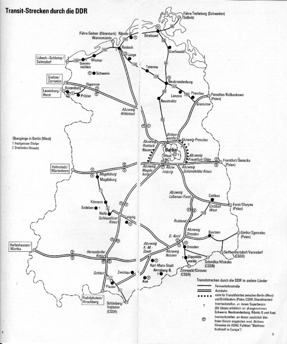 Verlauf Ddr Grenze Karte.Deutsch Deutscher Alltag